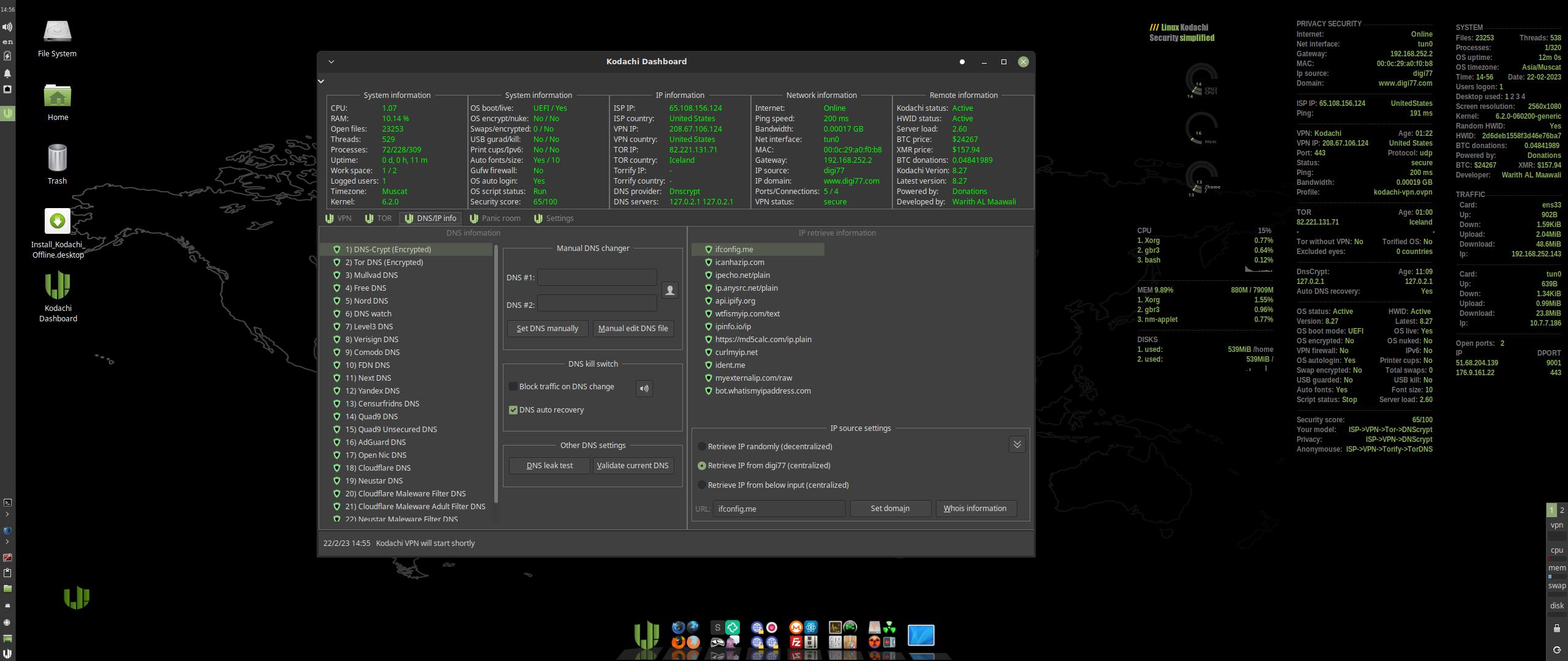 Linux Kodachi: distro seguridad especializada en privacidad