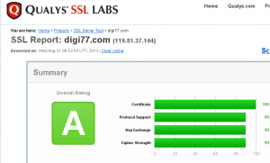 ssl-labs report